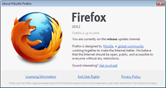 Firefox 10.0.2 about dialog