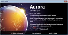 Firefox 12 Aurora