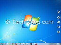 Windows 8 Charms bar on Windows 7
