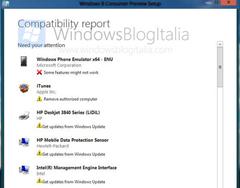 Windows 8 Consumer Preview  Compatibility Report