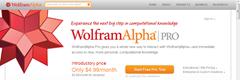 Wolframalpha Pro