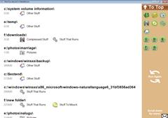 large folders list