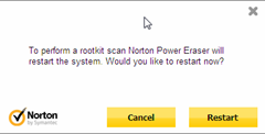 restart system