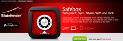 BitDefender Safebox online file backup service