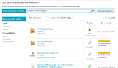 Windows 8 compatbility check