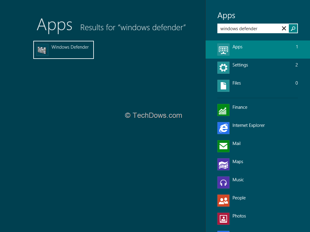 how to turn windows defender back on