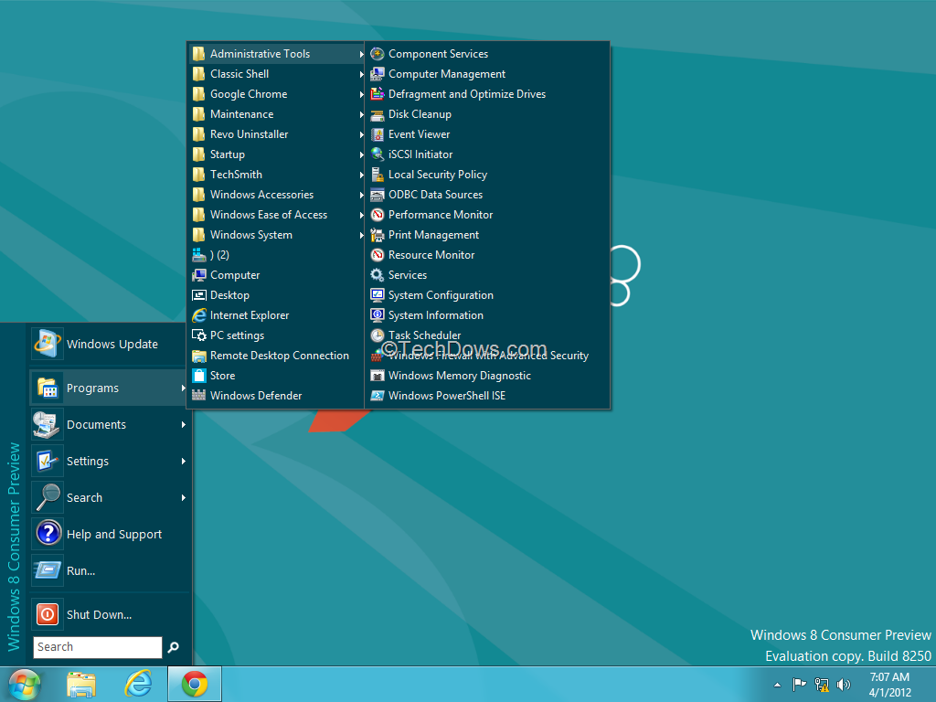how to get classic start menu for windows 8