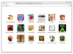 Chrome with 17 games preinstalled