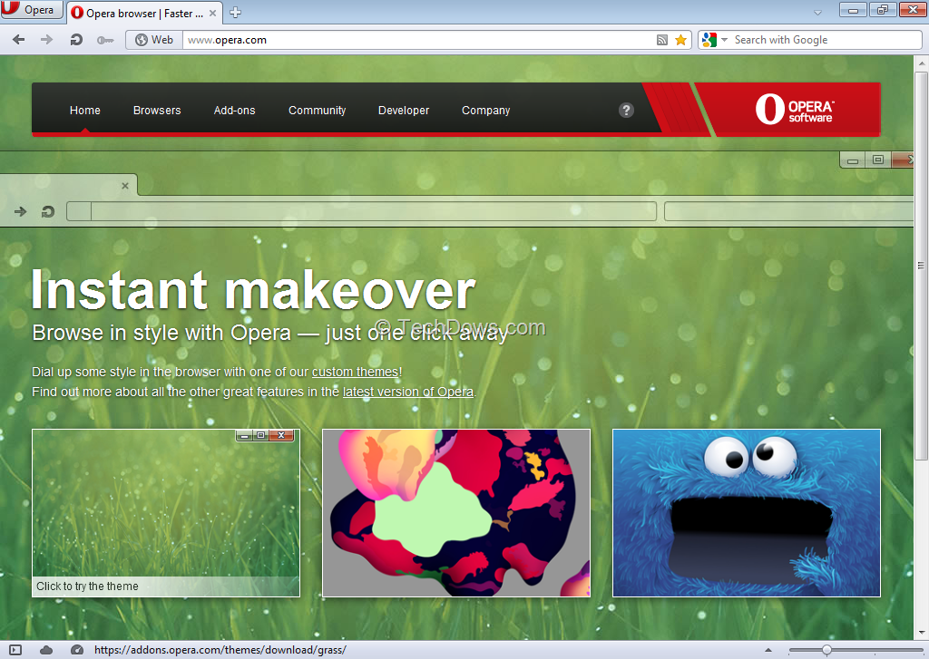 Opera 12 Final Released with Hardware Acceleration,WebGL and