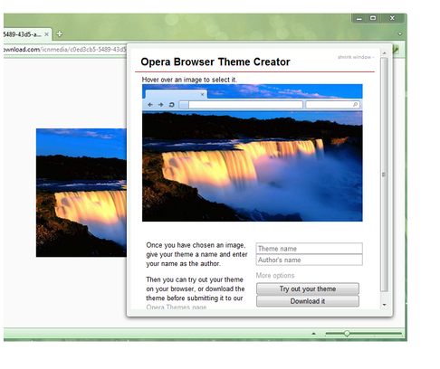 Make Your Own Theme for Opera with Opera Theme Creator