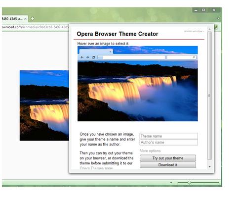 Customization opera help.