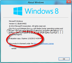 about Windows thumb1 Windows 8 Release Preview Expiry Date