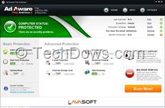 Ad-Aware Free Antivirus 10.2 UI