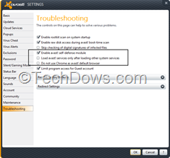 Avast self defense module setting thumb What is the Purpose of Avast Self Defense Module?