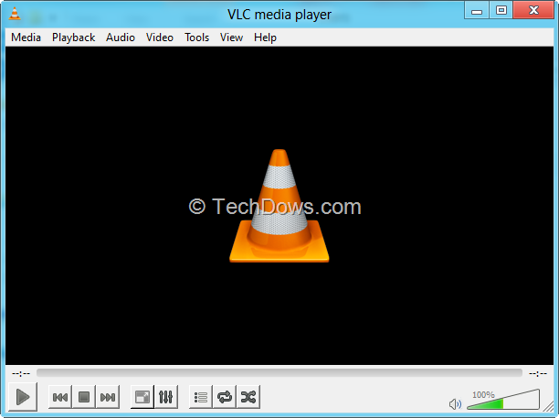 how to set windows media player to open full screen