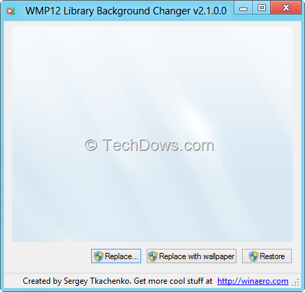 how to run windows media player in background