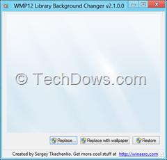 WMP12 background Changer