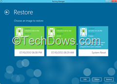 restore an image thumb RecImg Manager : Restore and Reinstall Windows 8 without losing Installed Programs and Personal Files