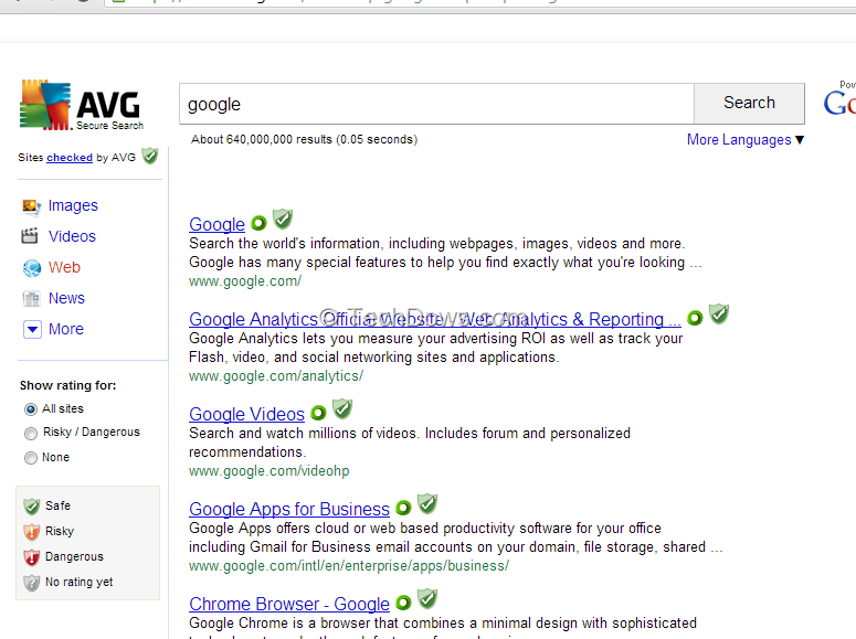 Avg Secure Search - Free downloads and reviews - CNET ...