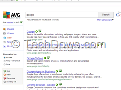 how to disable avg secure search