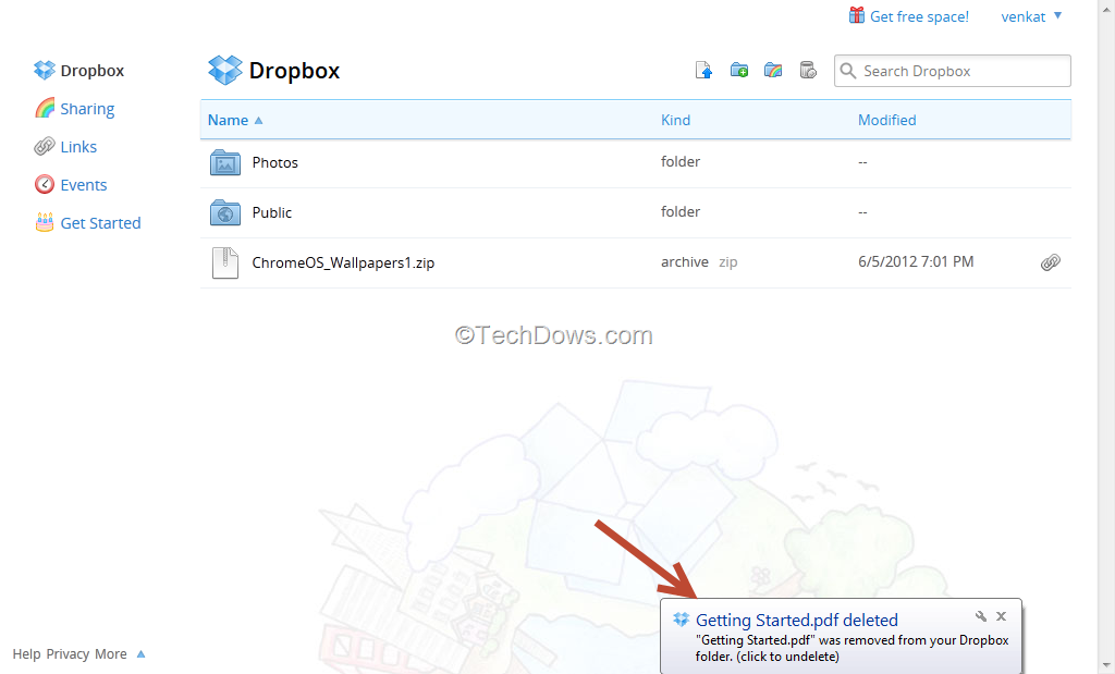 how to delete dropbox account from my computer
