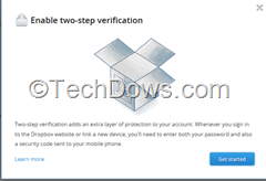 Enable two step verification thumb Enable Two Step Verification for Your Dropbox Account Now