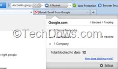 Avira Browser Tracking Blocker