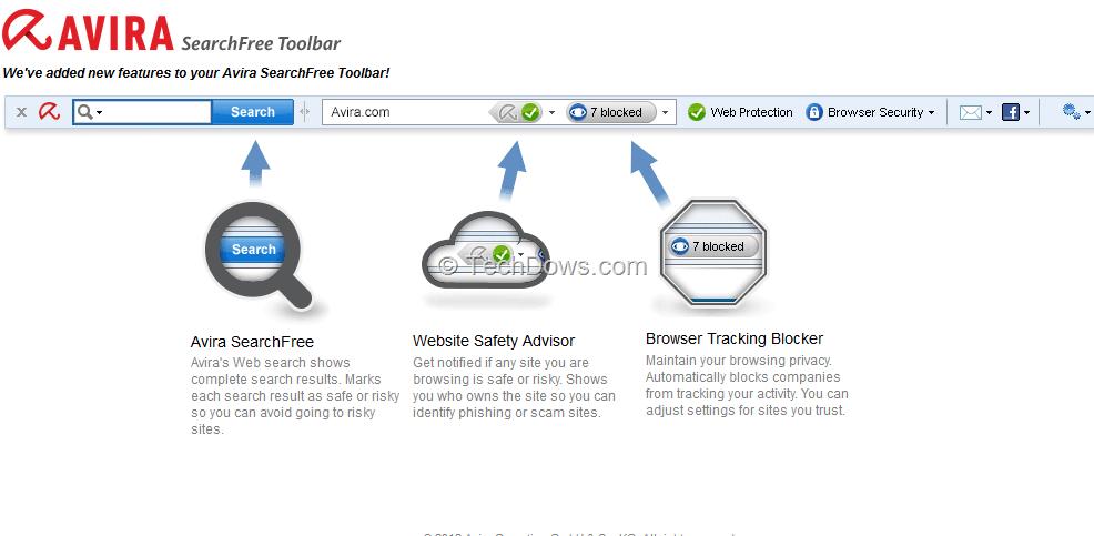 avira searchfree toolbar