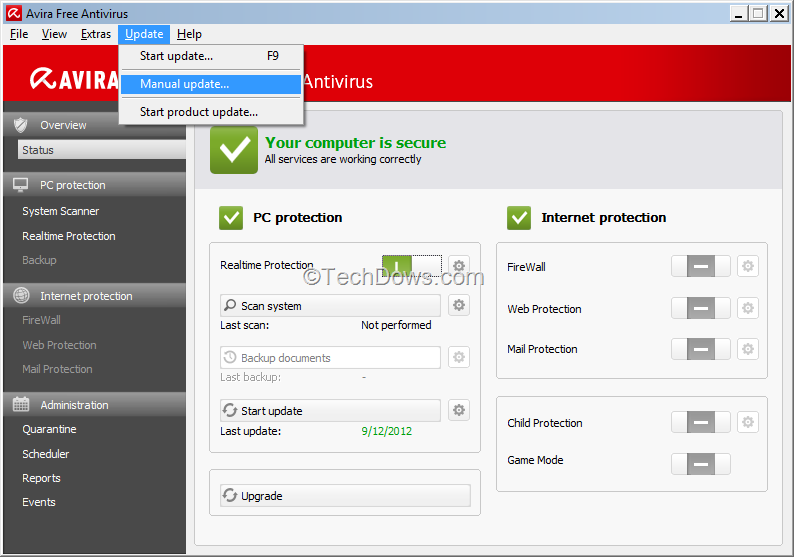 avira windows xp offline installer