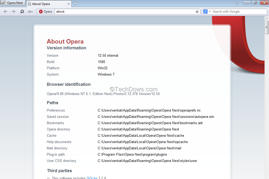 New Opera 12 50 Snapshot Adds Touch Support for Windows 8