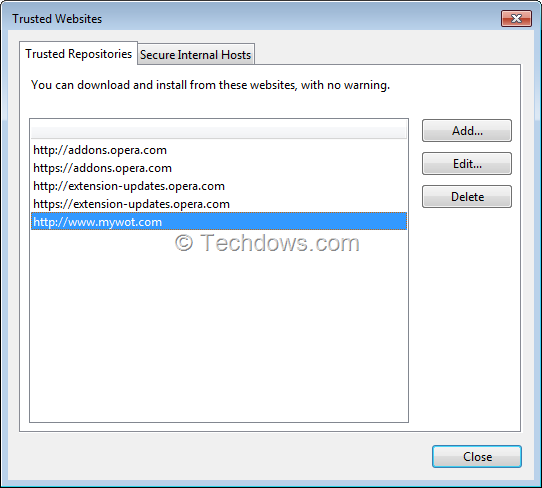 How to Install Third-Party Extensions in Opera