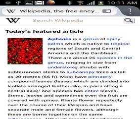Reader Mode in Firefox mobile