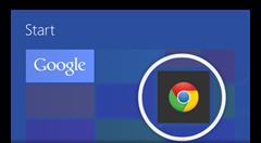 Get Chrome, Google apps on Windows 8
