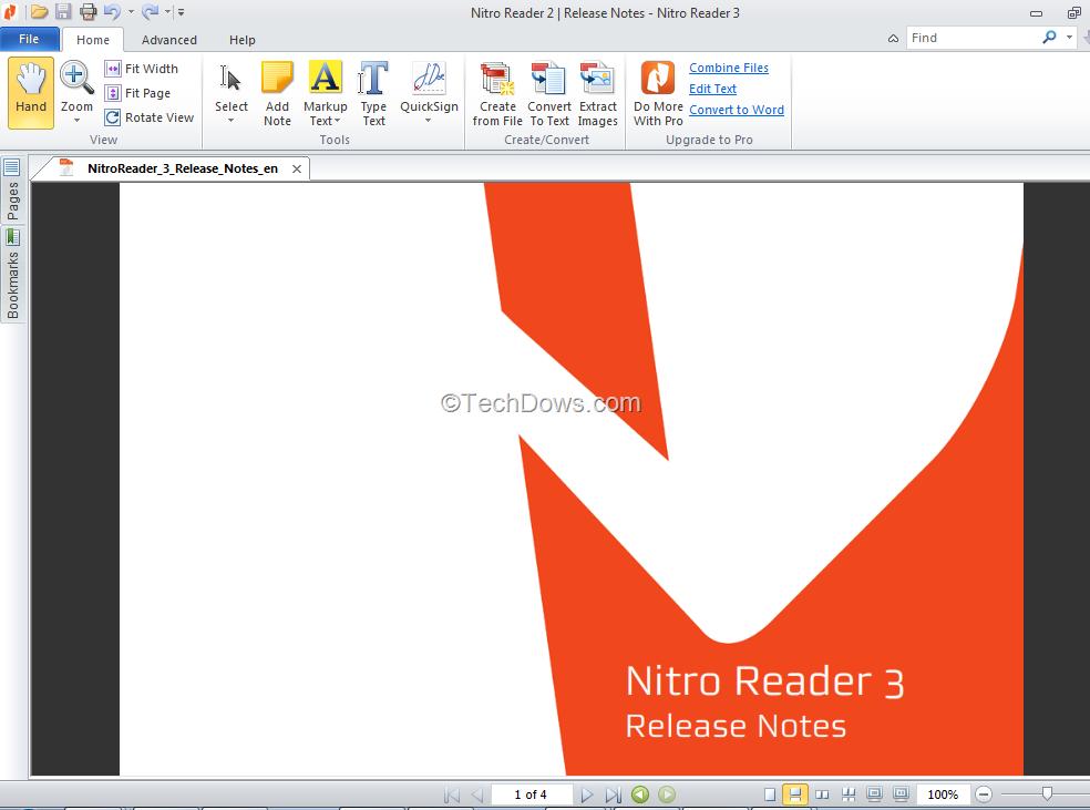 Nitro Pdf Reader Pro Free