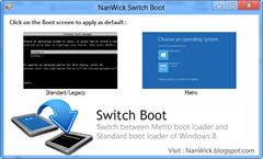 Windows 8 Switch Boot