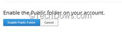 enable public folder