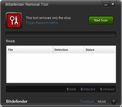 BitDefender Police trojan removal tool