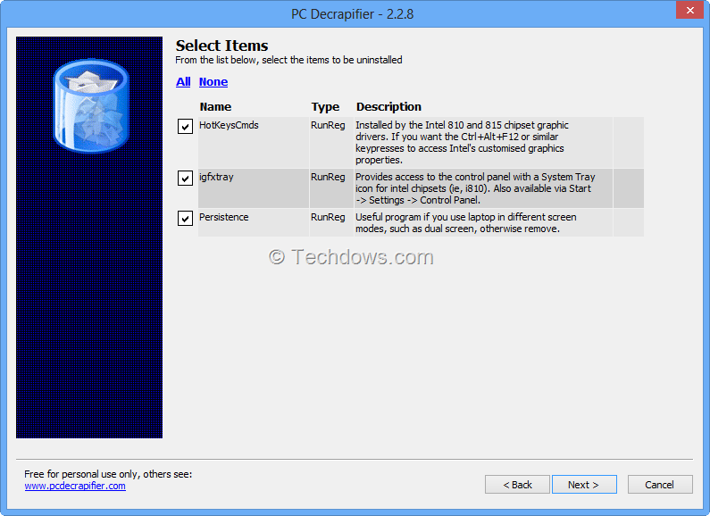Bought A Windows 8 PC ? Time to Use PC Decrapifier to remove