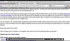 desktop firefox in reader mode view