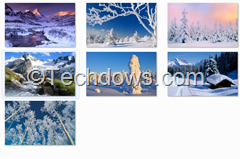 wallpapers in Bing Winter Pack