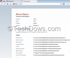 Opera 12.12 offers secuity and stabliity enhancements