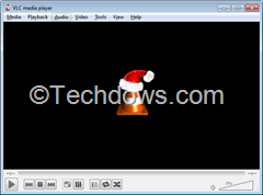 VLC player cone icon worn Santa Hat for Christmas thumb How to Remove Santa Hat in VLC Player   This is For don't want Users Only
