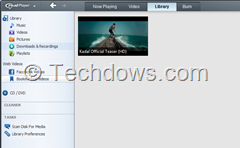 bookmarked video in realplayer 16 library