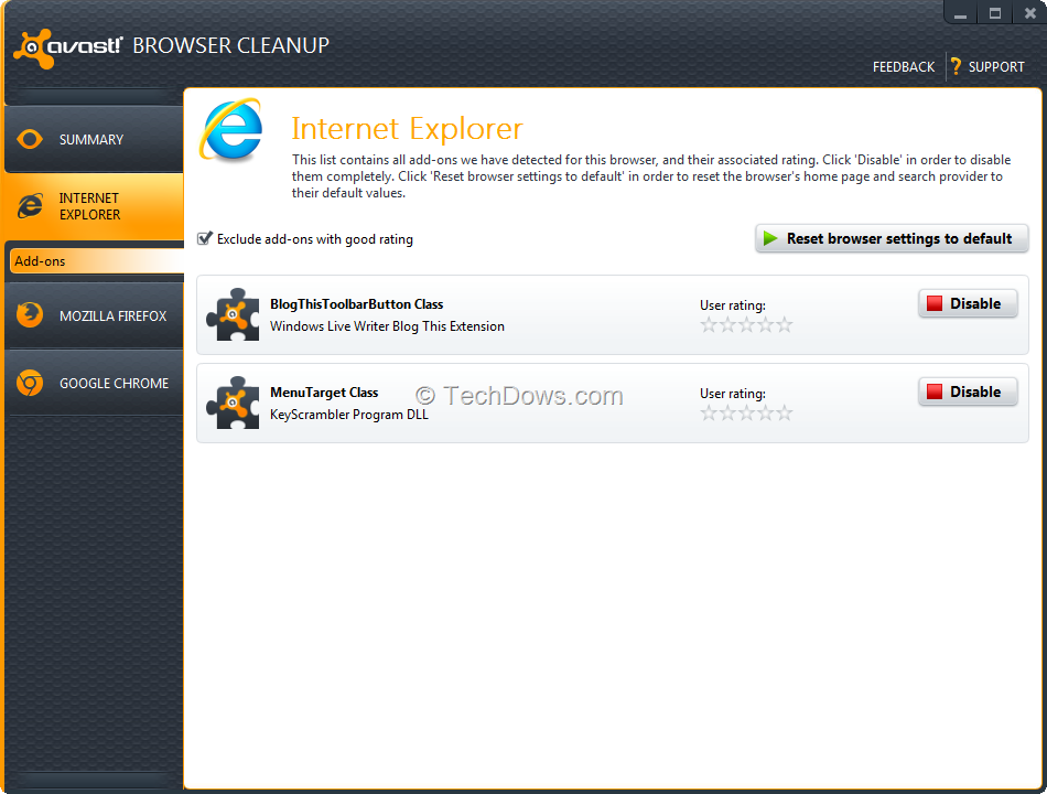 how to open incognito in avast browser