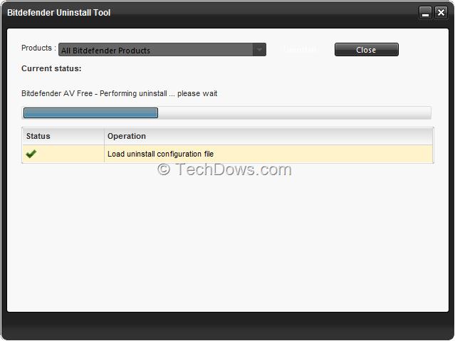 Download Uninstall Tool for Bitdefender Antivirus Free Edition