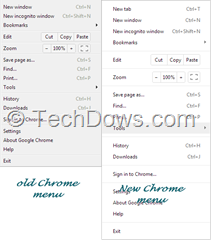 Chrome 26: color for both Chrome menu background and context menu are white