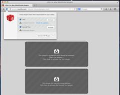 Firefox click to play plugin blocks