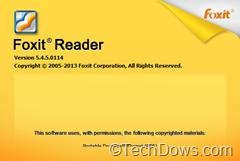 Foxit Reader 5.4.5