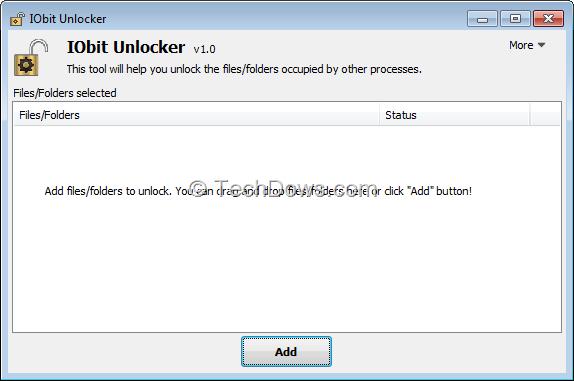 IObit Unlocker Free Download for Windows 10 7 8/ (64 bit/32 bit)