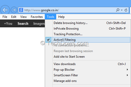 Issues with ActiveX on Internet Explorer 11